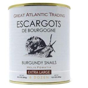 Organic Helix Burgundy Snails